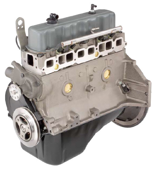 Gm 3.0 Marine Reman Long Block Engine