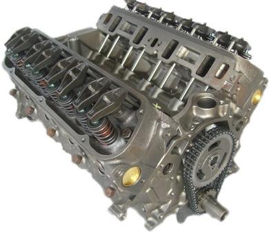 5.0 Gm 305 Reman Marine Long Block Engine 1976-1985