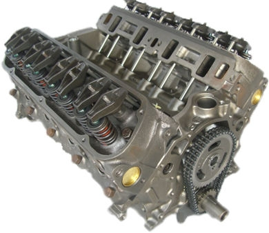 5.0 Reman Marine Long Block Engine General Motors 1987-1995