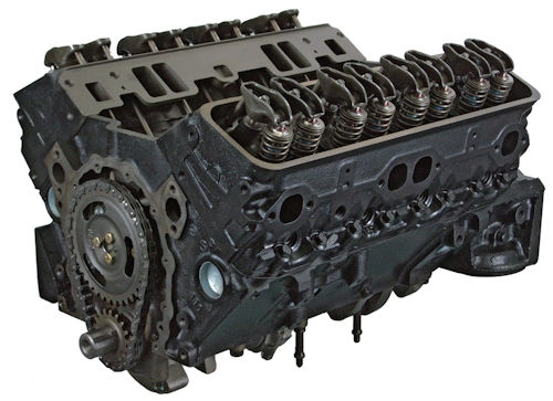 5.7 Gm Reman Marine Long Block Engine 1980-1985