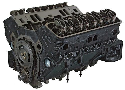 Gm 5.7 Reverse Rotation 350 Reman Marine Long Block Engine 1986-1987