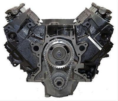 Gm 7.4l Marine Reman Long Block Engine 1973-1990