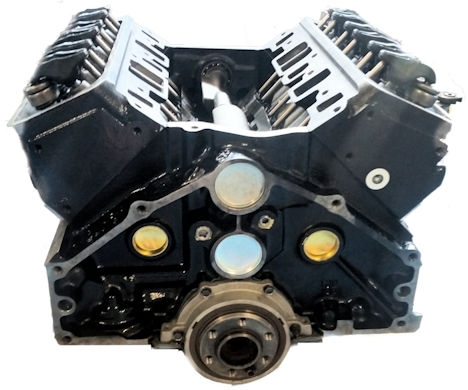 4.3l Gm Reman Marine Long Block Engine 1992-1997